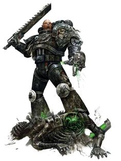 Iron Hands in the Death Watch