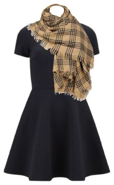 the dress by hillery-evans on Polyvore featuring Opening Ceremony and Black Rivet