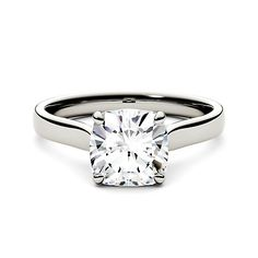 8633bd76c981 Forever One® 2 ct. tw. Moissanite Solitaire Engagement Ring in 14K White  Gold