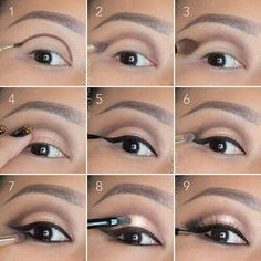 Easy step by step tutorial to get the perfect natural glam look. Perfect for going straight from day to night!