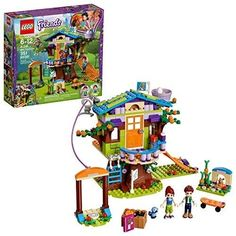 LEGO Friends Mia's Tree House 41335 Building Set Piece). 351 pieces - Creative building set for boys and girls between the ages of 6 and 12 years. LEGO Friends building toys are compatible with all LEGO construction sets for creative building. Legos, Lego Friends Sets, Cool Skateboards, Buy Lego, Shop Lego, Unique Buildings, Lego Worlds, Lego Architecture, Birthday Gifts For Kids