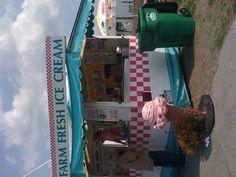 Farm Fresh Ice Cream in Upstate New York!