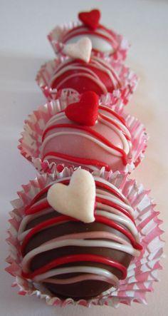 GF Valentine Love Cake Balls 1 Dz by BeSweets on Etsy, $20.00