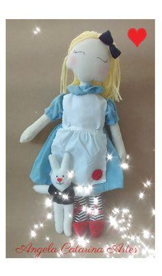 Boneca Alice (inspirada na Katia Callaça )