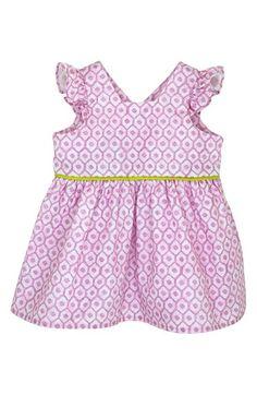 Margherita+Back+Wrap+Flutter+Sleeve+Dress+(Baby+Girls)+available+at+#Nordstrom