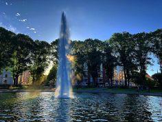 Good Morning! #karlaplan #fountain #östermalm #stockholm #stockholm_insta #visitstockholm #sweden #visitsweden #capitalofscandinavia