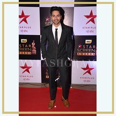 Varun Dhawan at Star Screen Awards 2016