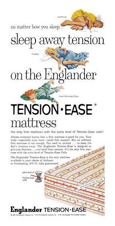 1959 Englander Mattresses ad