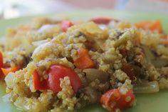 Mis Recetas Anticáncer: Quinoa con verduras y algas