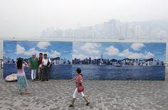 Hong Kong, fake Skyline