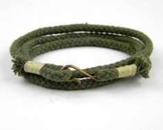 Rope wrap bracelet