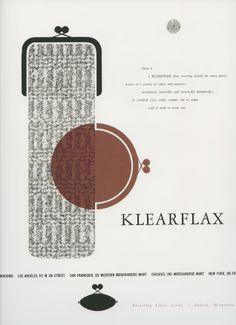 Klearflax Ad 1950