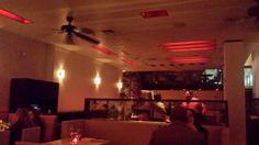 New Years Day in Philadelphia - Alma de Cuba Upstairs Dining Room