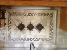 The Even S Family Created This Kitchen Back Splash Focal Point
