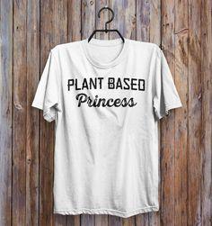 plant based princess vegan t-shirt