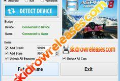 Asphalt 8 Airborne Hack Cheat Tool v1.2 (Updated January 2014)