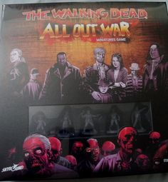 The Walking Dead: All Out War Miniatures Game Core Set NEW - FREE Priority Ship #Mantic