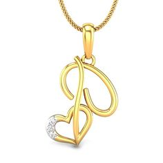 8b59e4a69 26 Best Diamond Just Initials Pendants images in 2017 | Initial ...