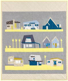 Local Quilt designed by Carolyn Friedlander. Robert Kaufman Fabrics.