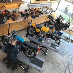 Benzina Garage, Preston South Preston, Motorcycle, Forget, Garage, Instagram, Motorbikes, Carport Garage, Motorcycles, Garages