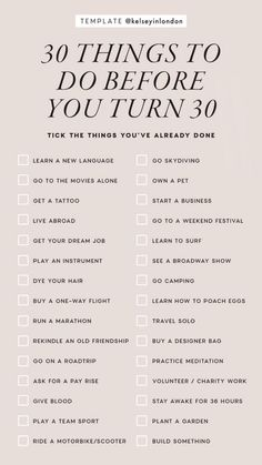The greatest list of Bucket List Ideas ever. Now you can design the life goals that you have always wanted. Create your Bucket List with these goals in life Vie Motivation, Things To Do When Bored, 30 Things To Do Before 30, Self Care Activities, Couple Activities, Learn A New Language, Self Improvement Tips, Instagram Story Template, Instagram Templates