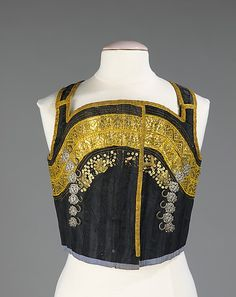 Bodice, 19th century, Swiss