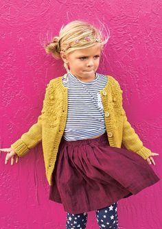 Billedresultat for sandnes merino uld opskrift baby Knitting For Kids, Baby Knitting, Toddler Outfits, Kids Outfits, Kids Wardrobe, How To Purl Knit, Kid Styles, Little Girl Dresses, Knit Patterns