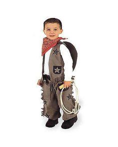 Toddler Taupe Cowboy Costume  - Spirithalloween.com