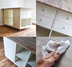 Les touches finales retravailler EXPEDIT