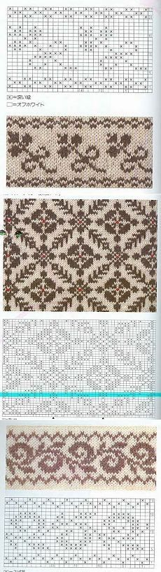 Der Neuen 10 : Trendy Stricktabellen Muster faire Inseln häkeln isle knitting patterns c hat free fair isles Fair Isle Knitting Patterns, Knitting Charts, Loom Knitting, Knitting Stitches, Knitting Sweaters, Knitting Ideas, Motif Fair Isle, Fair Isle Chart, Crochet Chart