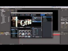 (Spanish) Tutorial de Texto con Element3D | After Effects CS6 - YouTube