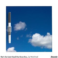 Sky's the Limit Small Dry Erase Board
