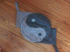yin yang christmas stockings set of 2 by RescueRemakeRemember, $45.00