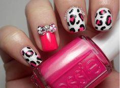 Vernis léopard rose !!!
