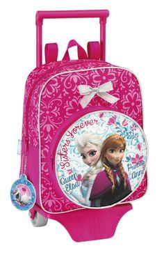 c2ecc5fcea0 Ghiozdan copii cu troler jr. colectia Frozen II Disney Ghiozdanul troler  gradinita din colectia Frozen