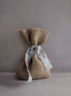 Burlap, Reusable Tote Bags, Boho, Hessian Fabric, Bohemian, Jute, Bohemian Decorating