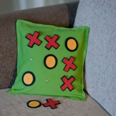 """""""Playful Cushion Cover"""" at www.yellowtrunk.com Cushions, Cover, Garden Ideas, Diy, House, Products, Toss Pillows, Do It Yourself, Bricolage"""