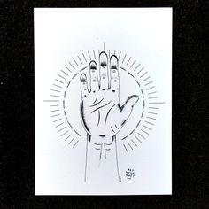 Wisdom (Sagesse)  Illustration réalisée à lencre et à laquarelle. 30x40 cm (11,7 x 15,7 po) / Disponible en haute qualité.  Le travaille dune main
