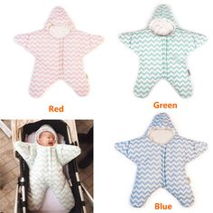 High Quality Cotton Baby Sleeping Bag 0-3 months Child Unisex Envelope For Newborns Winter Warm Stroller Blanket  -- MKE051 PT49