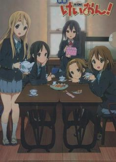 K-ON!! clear file folder official Japan Hirasawa Yui , Akiyama Mio , Tainaka Ritsu , Kotobuki Tsumugi , Nakano Azusa