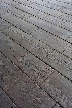 Hometalk :: Concrete Barn Planks for Landscaping