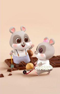 Chibi Wallpaper, Hello Kitty Wallpaper, Cute Disney Wallpaper, Cute Rabbit Images, Cute Images, Cute Pictures, Cute Love Wallpapers, Cute Cartoon Wallpapers, Cute Bunny Cartoon
