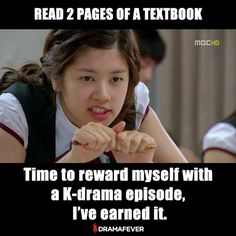 school work or kdrama ? haha school work or kdrama ? Korean Drama Funny, Korean Drama Quotes, Funny Quotes, Funny Memes, Hilarious, Jokes, Live Action, Playful Kiss, Drama Fever
