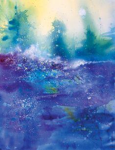 Rita Vaselli watercolors: IL TAO NELL'ACQUARELLO:JEANNE CARBONETTI