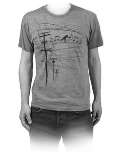 Fullbleed 'High Notes' T-Shirt | Fullbleed official storefront powered by Merchline