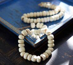 White Beads Vase Filler | Pottery Barn