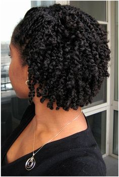 Natural Twist Hairstyles Extraordinary Natural Twostrand Twist Side View  Protective Styles  Pinterest