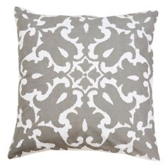 Allem Studio Sindoor Grey Pillow @Zinc_Door
