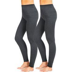 744d551c9cc191 Afrodita Women Leggings Seamless Warm Spring French Terry Leggings 1  Packs(Grey,S/M). Winter LeggingsWomen's LeggingsPlus Size ...