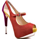 Boutique 9's Multi-Color Nickeya - Orange for 149.99 direct from heels.com